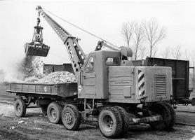 Lader T172 im Einsatz