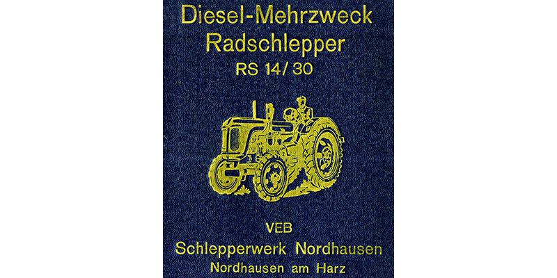 Diesel - Mehrzweck Radschlepper RS14-30L
