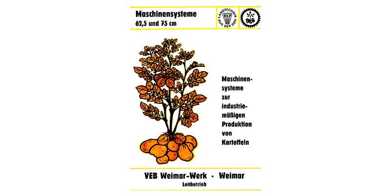 Maschinensysteme zur industriemäßigen Produktion von Kartoffeln