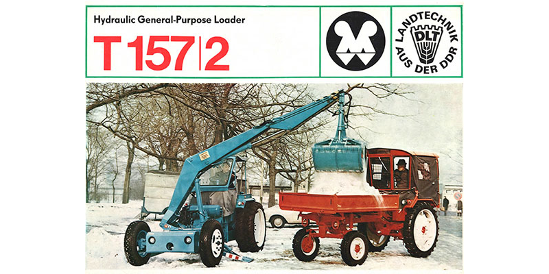 T157/2 - Hydraulic General - Purpose Loader