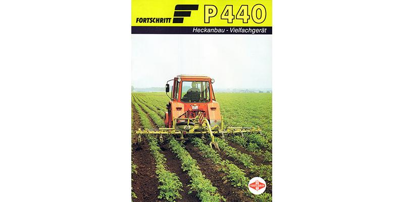 P440-Heckanbau - Vielfachgerät