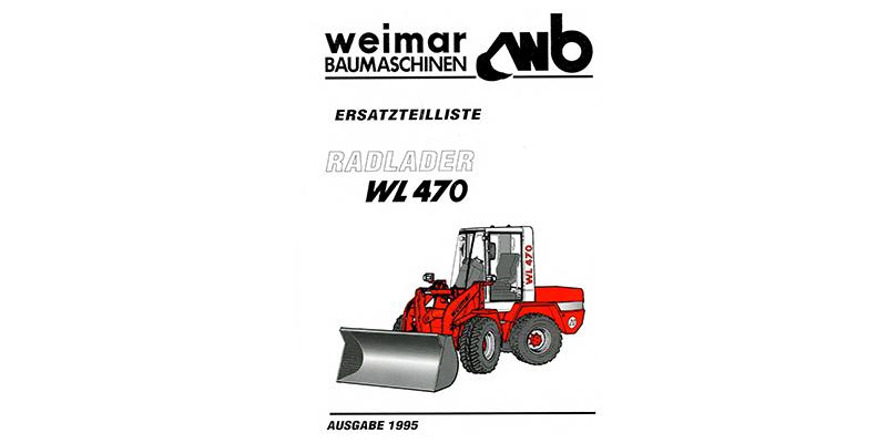 WL470-Ersatzteilliste
