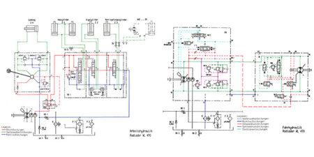 Hydraulikschaltpläne WL470