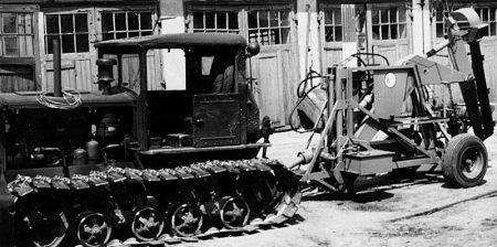 Maulwurfdrainmaschinen B750/B756