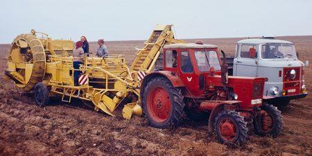 Kartoffelsammelroder E671
