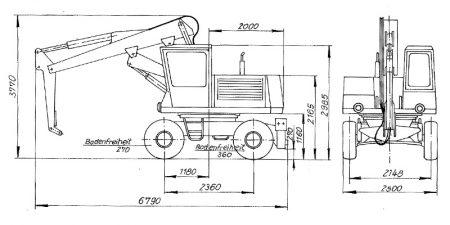 Hydraulischer Lader T185