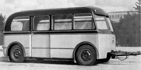Omnibusanhänger W 701
