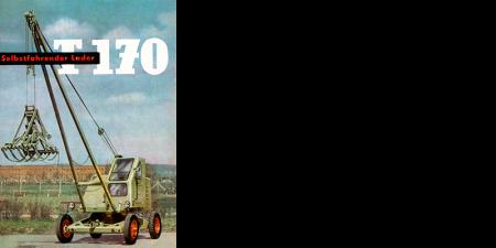 Selbstfahrender Lader T170 - 10 Seitenprospekt