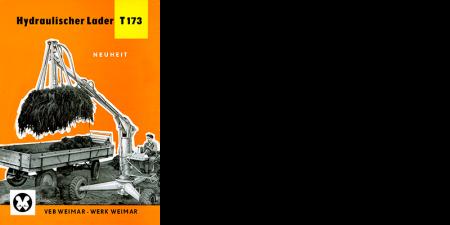 Hydraulischer Lader T173 - 6 Seitenprospekt