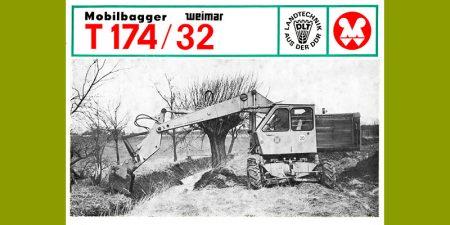Mobilkran T174-1/32 - 2 Seitenprospekt für den Tieflöffelbetrieb
