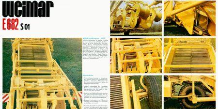 Rodelader E682 - 8 Seitenfaltprospekt