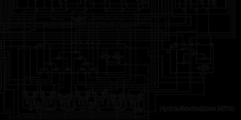 Hydraulikschaltplan M700A – Weimar Werk