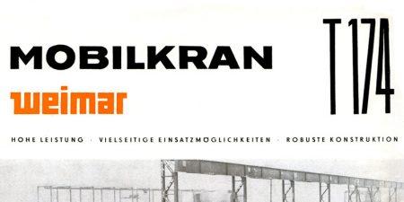 Mobilkran T174 - 2 Seitenprospekt