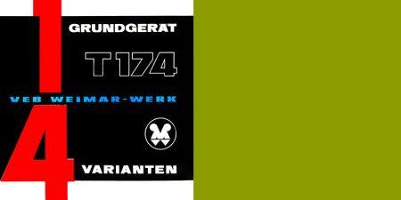 """Mobilkran T174 - Prospekt """"1 Grundgerät - 4 Varianten"""""""
