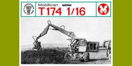 Mobilkran T174-1/16 - 2 Seitenprospekt für den Greiferbetrieb
