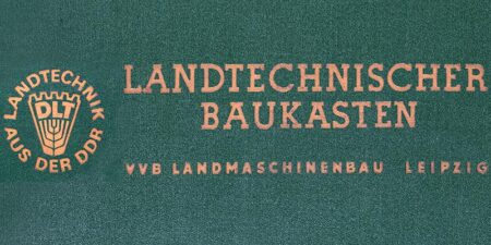 Landtechnischer Baukasten (ca. 1968)