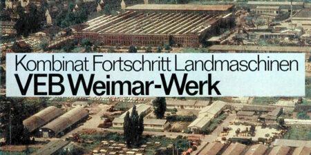 1952-1982-Festschrift 30 Jahre VEB Weimar-Werk