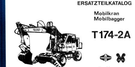Ersatzteilkatalog T174-2A