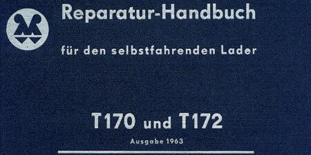 Selbstfahrender Lader T170 und T172 - Reparaturhandbuch