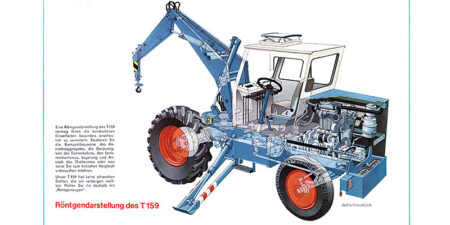 1971 - Prospekt Mobildrehkran T159