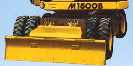 Prospekt 1998 - HYDREMA <br>Mobilbagger M1500B