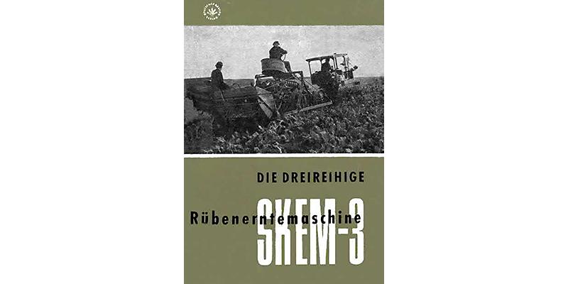 SKEM-3-Dreireihige Rübenerntemaschine