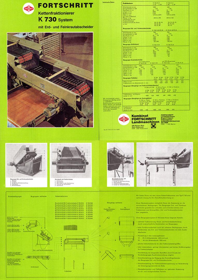 K730 Kettenfraktionierer