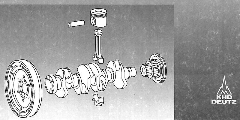 M900 - Ersatzteilliste - Deutz - Motor BF M 1012/E/C