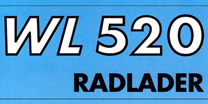 2 Seitenprospekt - weimar BAUMASCHINEN Radlader WL520