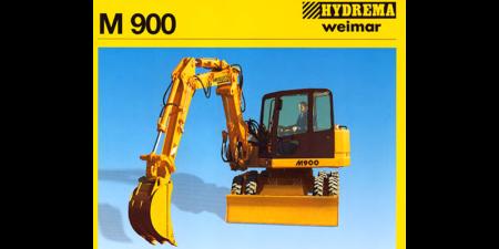 Prospekt 1997 - HYDREMA <br>Mobilbagger M900
