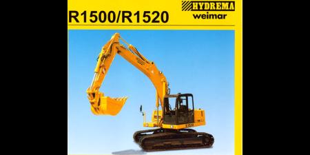 Prospekt 1997 - HYDREMA <br>Raupenbagger R1500/R1520