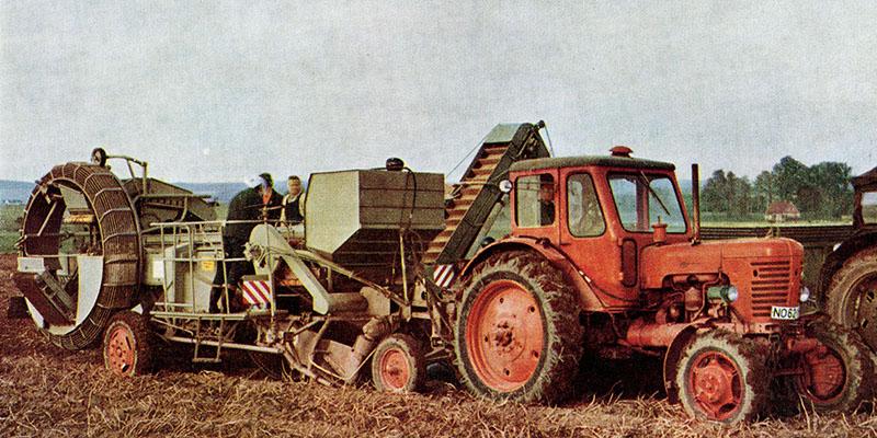 E665/4 und E665/6 Kartoffelsammelroder