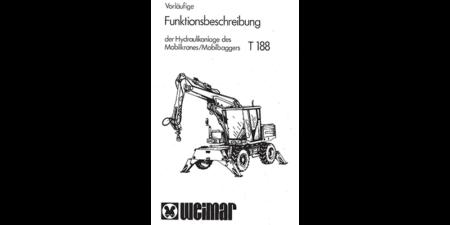 Funktionsbeschreibung - Hydraulikanlage des Mobilkranes / Mobilbaggers T188