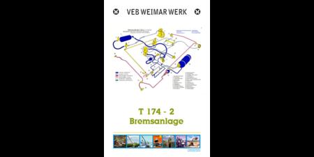 Plakat: Bremsanlage T174-2, ca. 1988