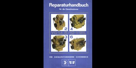 T174-2, T174-2A und T174-2B Reparaturhandbuch Motor 2 VD 14,5/12-1 SRL