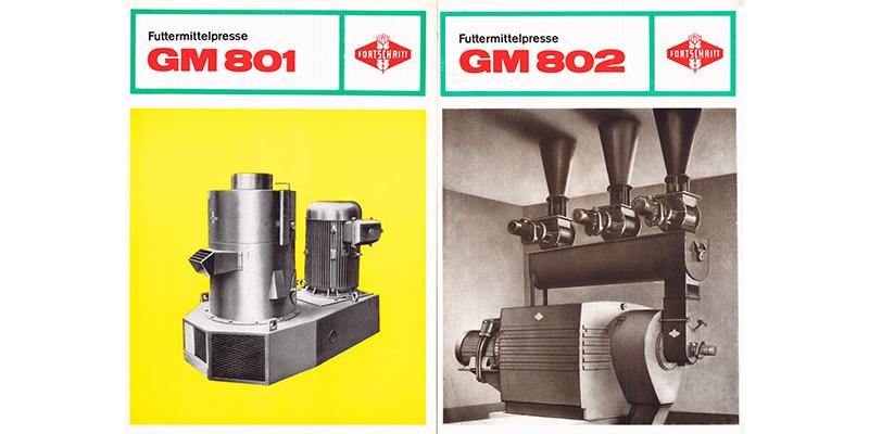 Futtermittelpressen GM801 und GM802