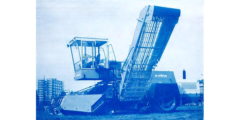 6 ORCS - Selbstfahrende sechsreihige Rübenköpfmaschine
