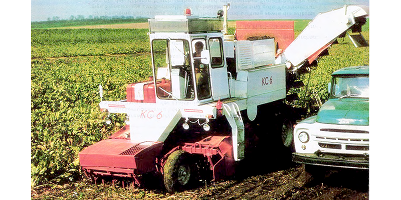 KS6 Hackfruchterntemaschine