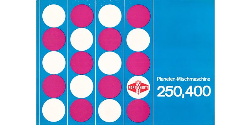 Planeten Mischmaschine 250, 400