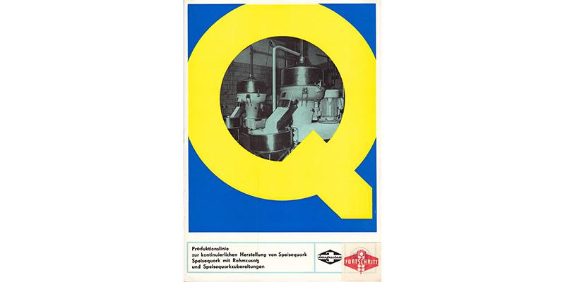 Produktionslinie zur kontinuierlichen Produktion von Speisequark