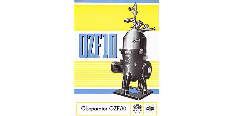 OZF10 Ölseparator
