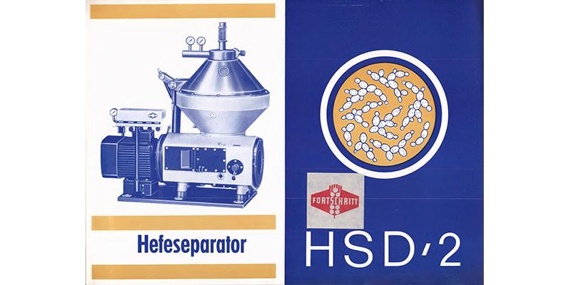 HSD-2 Hefeseparator