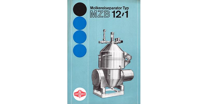 MZB 12-1 Molkereiseparator