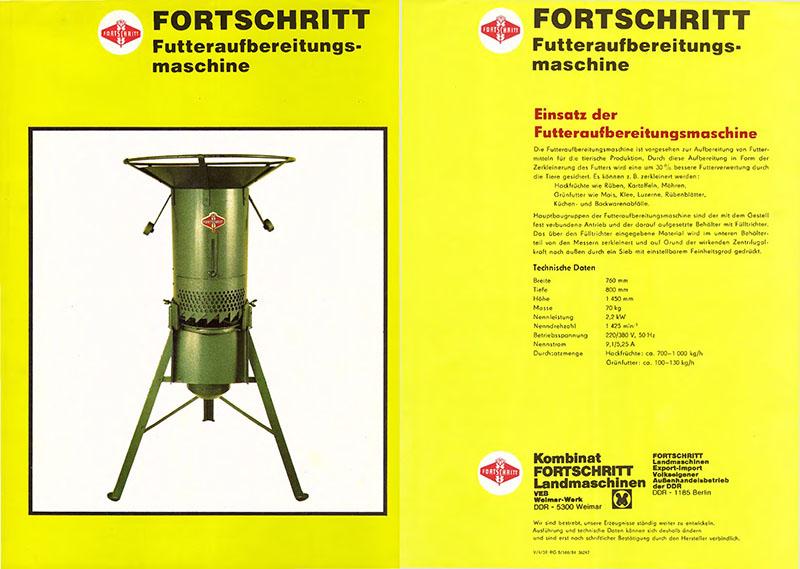 Futteraufbereitungsmaschine (Futtermuser)