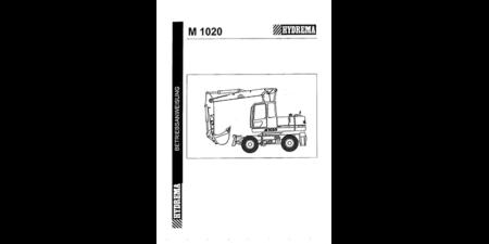 HYDREMA M1020 - Betriebsanweisung