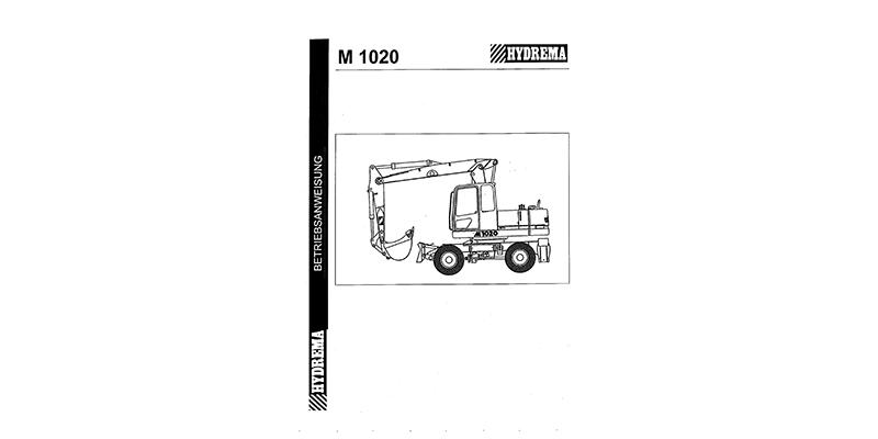 M1020 Betriebsanweisung
