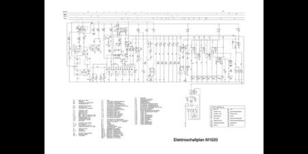 HYDREMA M1020 - Elektroschaltplan