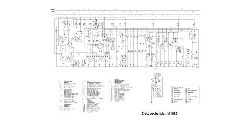 M1020 Elektroschaltplan