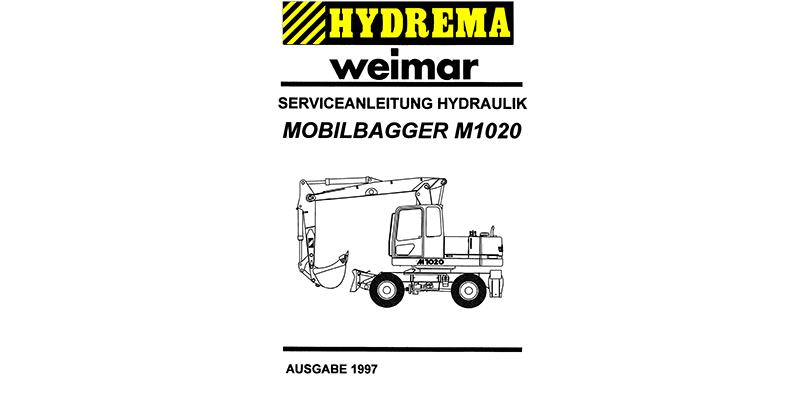 M1020 Serviceanleitung Hydraulik