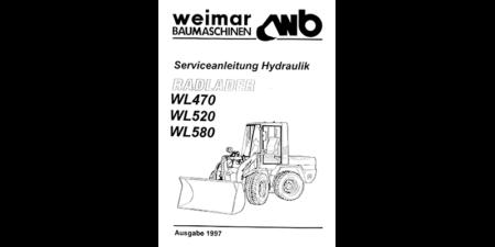 HYDREMA WL470 - WL520 - WL580 - Serviceanleitung Hydraulik
